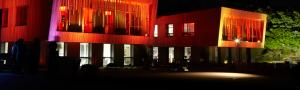 bâtiment inauguration illumination son et lumière